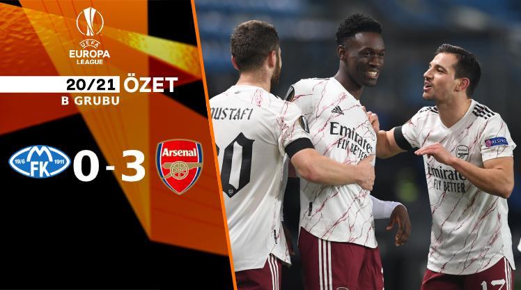 ÖZET | Molde 0-3 Arsenal