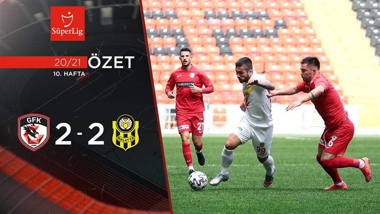 ÖZET | Gaziantep FK 2-2 Y. Malatyaspor