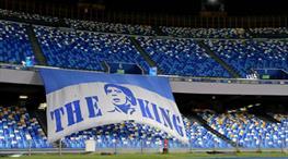 Napoli stadının yeni adı Diego Armando Maradona