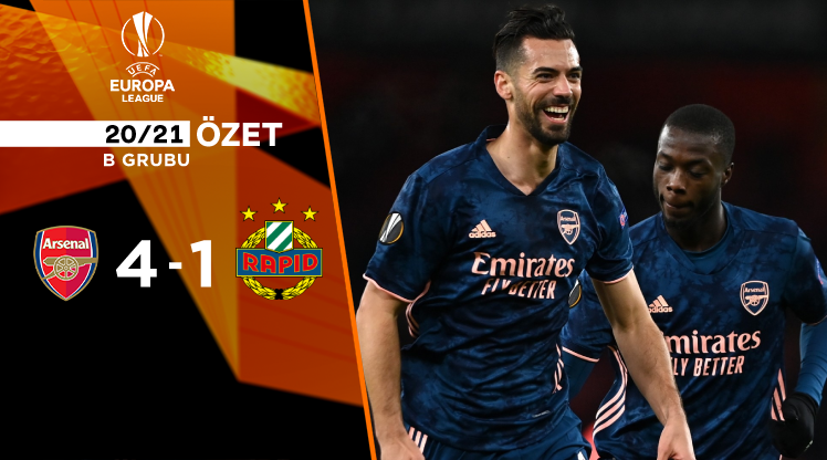 ÖZET | Arsenal 4-1 Rapid Wien