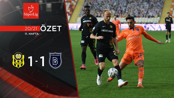 ÖZET | Y. Malatyaspor 1-1 M. Başakşehir