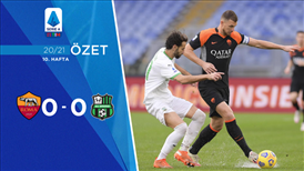 ÖZET | Roma 0-0 Sassuolo