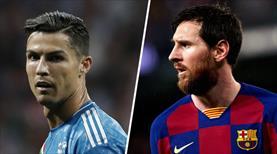 Ronaldo ve Messi'nin en güzel Devler Ligi golleri