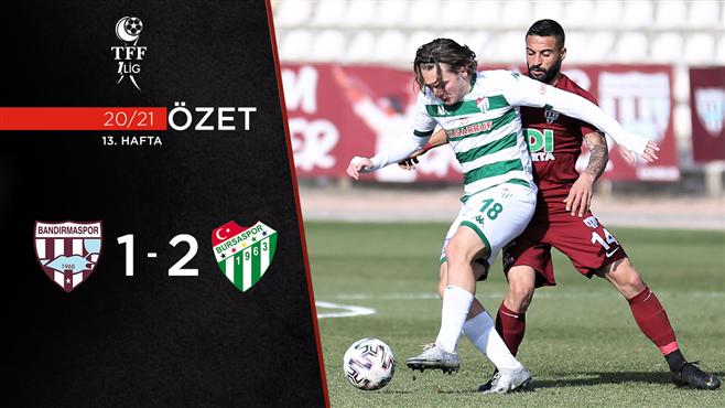ÖZET | RH Bandırmaspor 1-2 Bursaspor