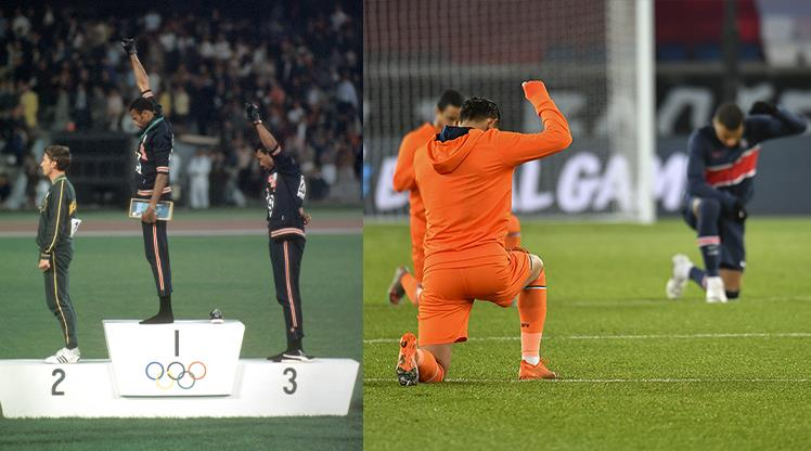 Başakşehir ve PSG, 1968 olimpiyatlarını hatırlattı