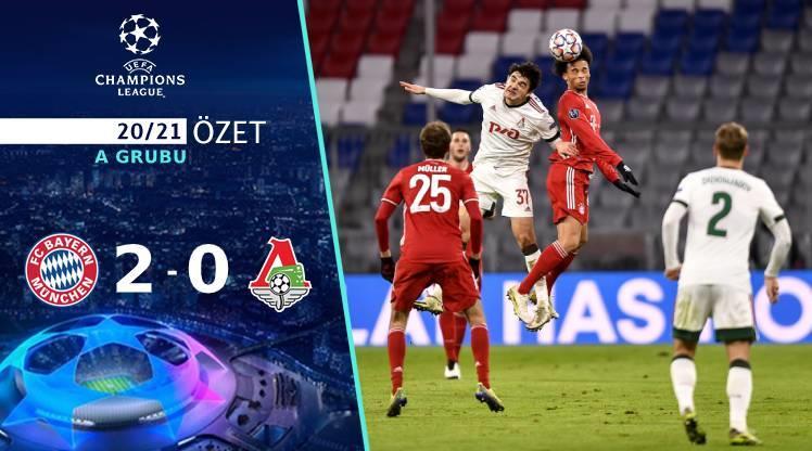 ÖZET | Bayern Münih - Lokomotiv Moskova 2-0