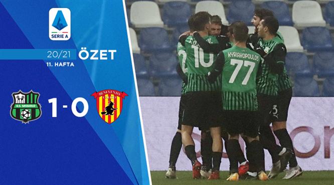 ÖZET | Sassuolo 1-0 Benevento