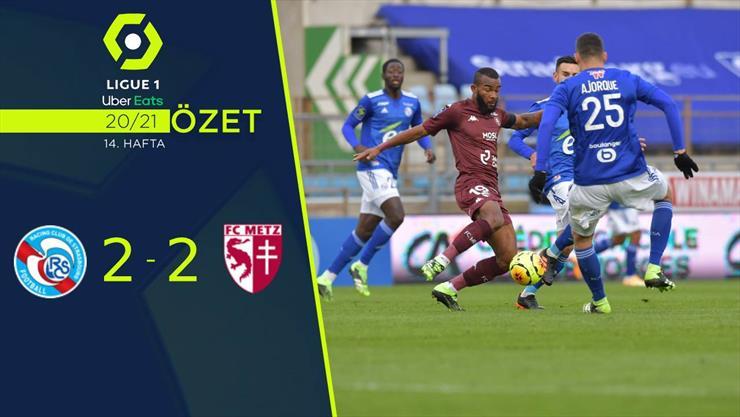 ÖZET | Strasbourg 2-2 Metz