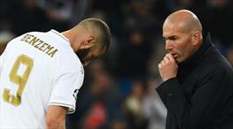 Zidane'dan Benzema'ya övgü