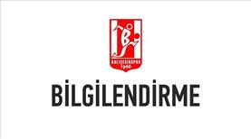 Balıkesirspor'da futbol şube sorumluları görevden alındı