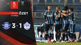 ÖZET | Adana Demirspor 3-1 Tuzlaspor