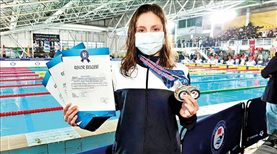 Merve Tuncel olimpiyat A barajını geçti