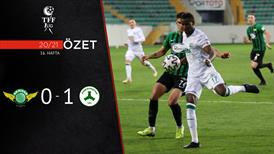 ÖZET | Akhisarspor 0-1 Giresunspor