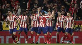 Atletico Madrid, tek golle avantajı kaptı (ÖZET)