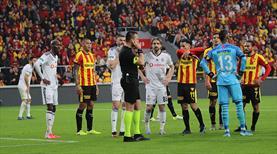 Beşiktaş, Göztepe maçının hakemleri için PFDK'ya başvurdu