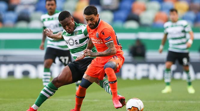 Sporting Lizbon - Medipol Başakşehir: 3-1 (ÖZET)