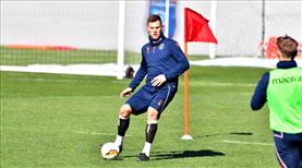 M. Başakşehir'de Sporting mesaisi başladı