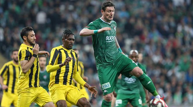 Bursaspor - İstanbulspor: 1-1 (ÖZET)