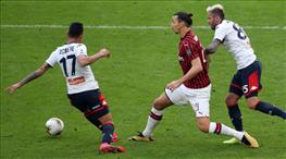 Milan'a Genoa sürprizi (ÖZET)