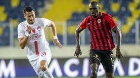 Gençlerbirliği - FTA Antalyaspor: 1-1 (ÖZET)