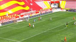 İşte Kayseri'yi öne geçiren gol! Aslan payı Mensah'ın