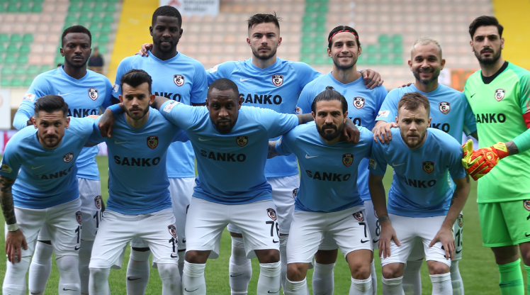 Gaziantep FK deplasmanda kayıp