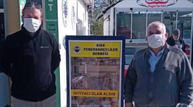 Biga Fenerbahçeliler derneğinden yardım