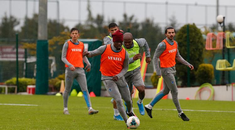 Trabzonspor'dan çift antrenman