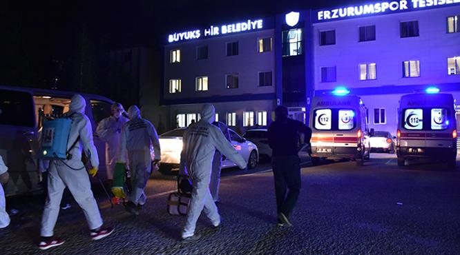 BB Erzurumspor'un tesisleri kapatıldı