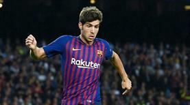 Sergi Roberto'nun futbola dönüş mutluluğu