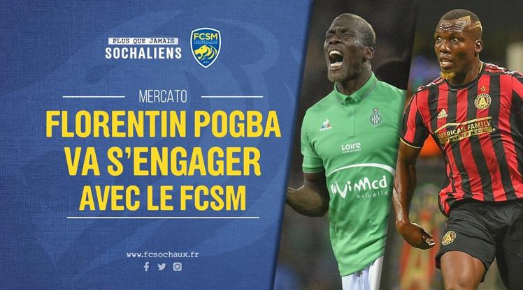 Abi Pogba Sochaux'la anlaştı