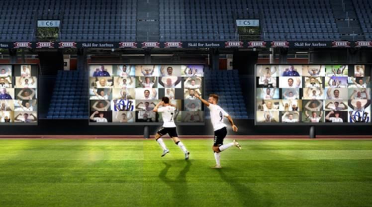 Seyircisiz maçlara sanal tribün çözümü