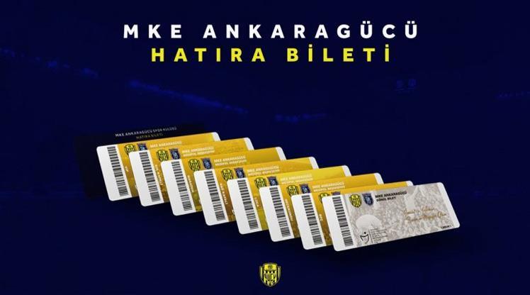 Ankaragücü'nden hatıra bilet kampanyası