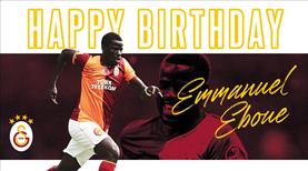 Galatasaray Eboue'yi unutmadı