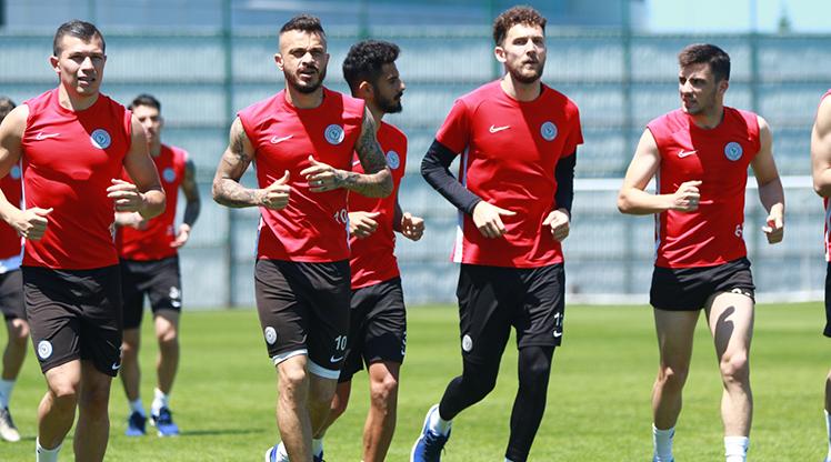 Rize'de Galatasaray mesaisi