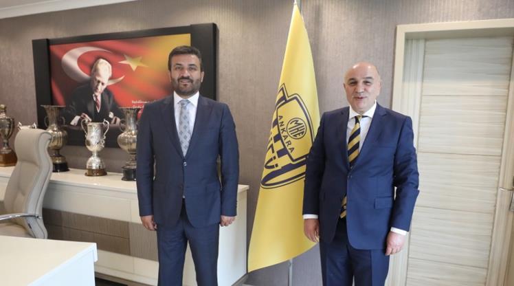 Altınok'tan Ankaragücü'ne ziyaret