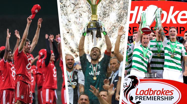 """Avrupa'nın """"seri"""" şampiyonları"""