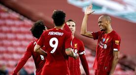Liverpool'dan dört dörtlük galibiyet