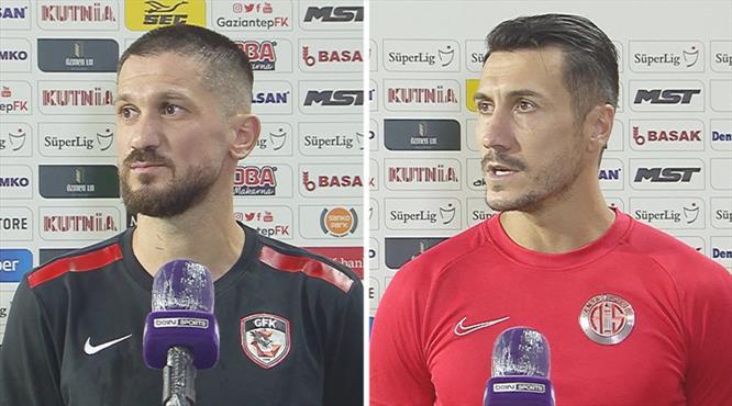 Gaziantep-Antalyaspor maçının ardından