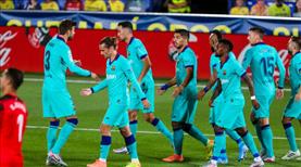 Barça zirve takibini sürdürdü