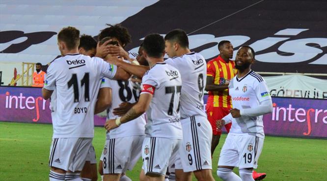 BtcTurk Yeni Malatyaspor-Beşiktaş: 0-1 (ÖZET)