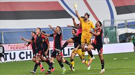Genoa'dan kritik galibiyet (ÖZET)