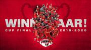 Belçika Kupası'nın sahibi Antwerp