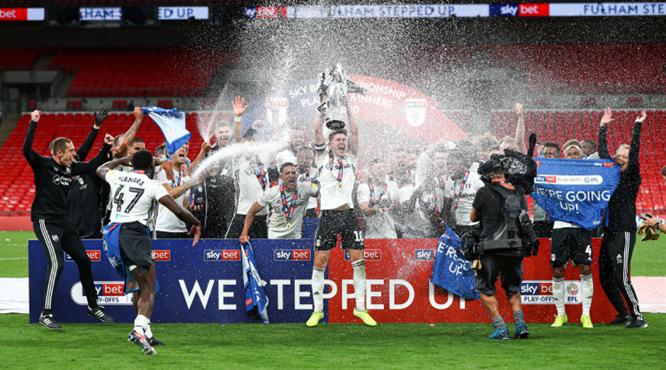 Fulham Premier Lig'e döndü (ÖZET)