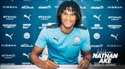 Nathan Ake Manchester City'de