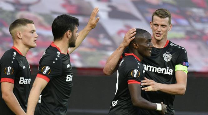 Leverkusen tek golle çeyrek finalde (ÖZET)