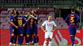 Barça zorlanmadan bileti kaptı (ÖZET)
