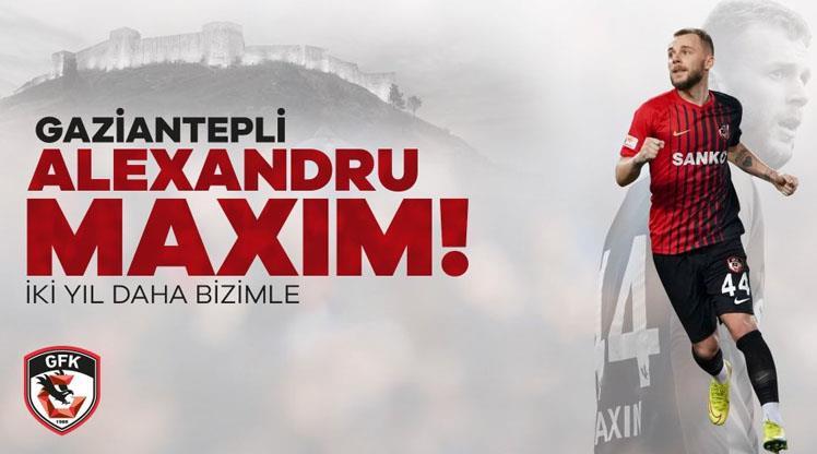 Gaziantep Maxim'in tapusunu aldı