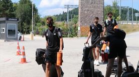 Beşiktaş'ın Bolu kampı başladı