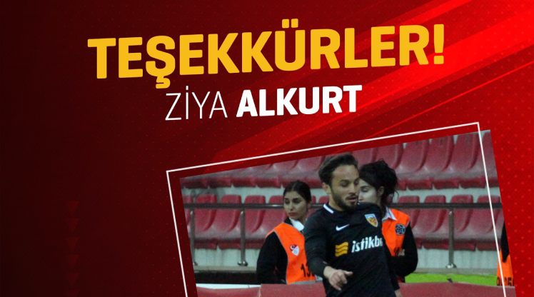 Kayserispor'dan Ziya Alkurt'a veda